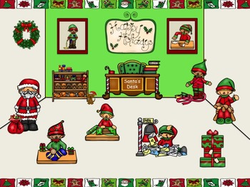 Santa's Workshop - A Game to Practice Quarter Rests (2 bars)