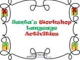 Santa's Workshop Activity Packet