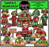 Santa's Workshop Clip Art Bundle {Educlips Clipart}