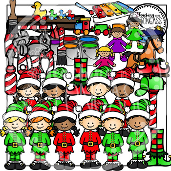 Christmas Elf Clipart (Christmas Clipart)