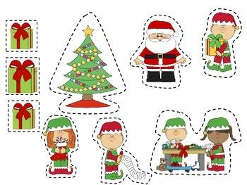 Santa's Workshop Role Play Craftivity