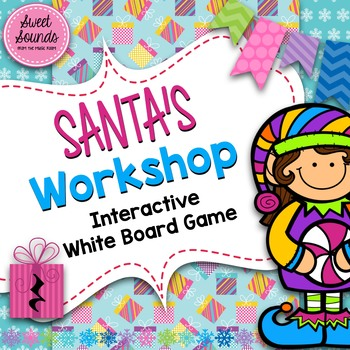 Santa's Workshop Ta Rest / Quarter Rest {Interactive Game}