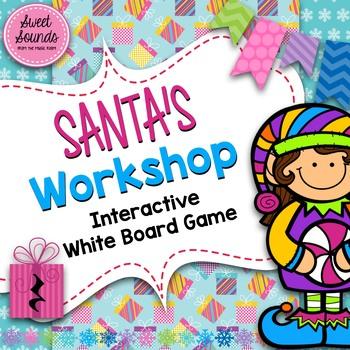 Santa's Workshop Ta Rest / Quarter Rest {Interactive Game}
