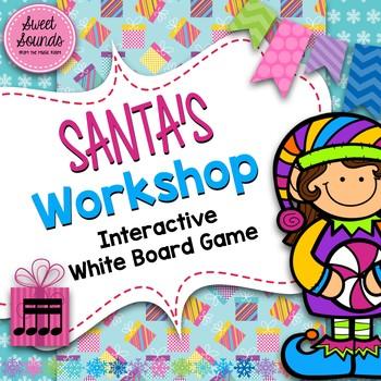 Santa's Workshop Takadimi / Tikatika / Tiritiri {Interactive Game}