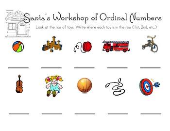 Santa's Workshop of Ordinal Numbers