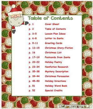 Santa's Writing List