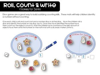 Santas in Town Language Literacy and Math Unit