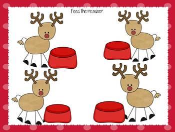 Santa's in Town Playdough Work Mats