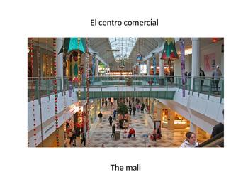 """Santillana Espanol 1, Unidad 3 Guatemala, Desafio 1 """"El Centro Comercial"""""""