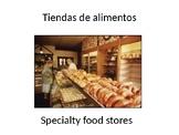"""Santillana Espanol 1, Unidad 4 Peru, Desafio 2 """"Tiendas de alimentos"""""""