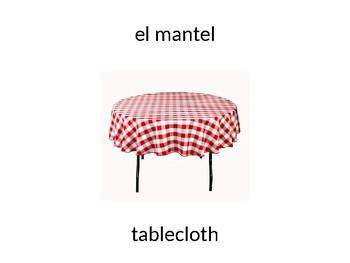 """Santillana Espanol 1, Unidad 4 Peru, Desafio 3 """"En la mesa"""""""