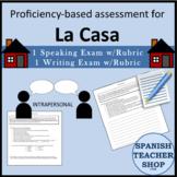 LA CASA assessment test