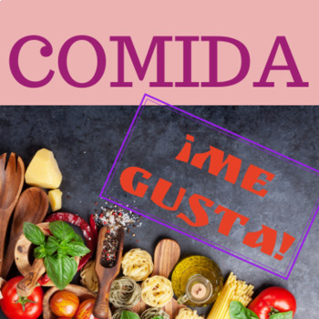 Comida Food Me gusta Gustar Speaking Activity Spanish Santillana