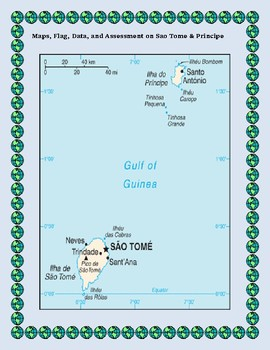 Sao Tome and Principe Geography, Flag, Data, Maps Assessment - Map Skills