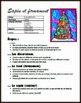 Arts plastiques: Sapin et firmament, hiver, Noël, plan de cours en français
