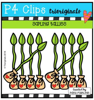 Sapling Tallies EARTH DAY (P4 Clips Trioriginals)