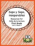 Sapo y Sepo inseparables- Calle de la lectuta- Unit 3 Week 4