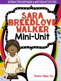 Sara Breedlove Walker- Black History Month Activity