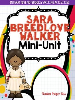 Sara Breedlove Walker- Black History Month Activity