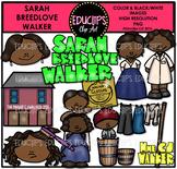 Sarah Breedlove Walker Clip Art Bundle {Educlips Clipart}