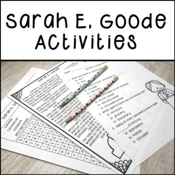 Sarah E. Goode Activities