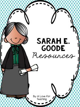 Sarah E. Goode {Black History Month/Women's History Month}