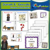 Sarah E. Goode Interactive Foldable Booklets - Black History Month