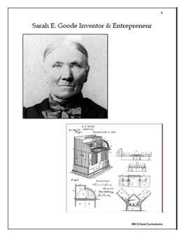 Sarah E. Goode Inventor-Entrepreneur