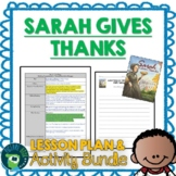 Sarah Gives Thanks by Mike Allegra Lesson Plan and Activities