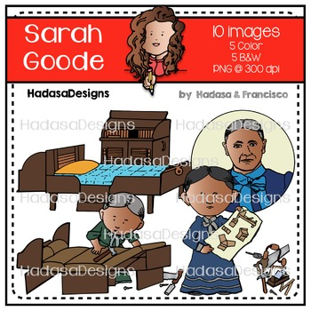 Sarah Goode Clip Art Set