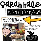 Sarah Hale and Thanksgiving Nonfiction Biography book and writing