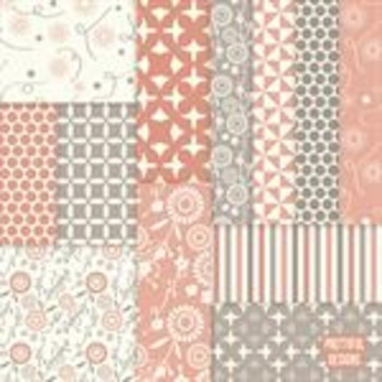 Sarah Jane Digital Background Flower Papers