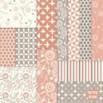Sarah Jane Digital Background Flower Papers
