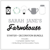 Sarah-Jane's Farmhouse Classroom Decor and Party Pack
