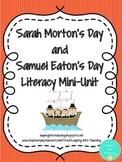 Sarah Morton and Samuel Eaton Literacy Mini-Unit
