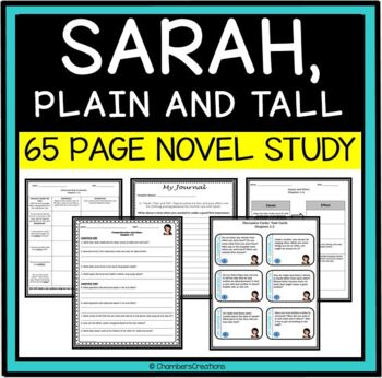 Sarah Plain and Tall Complete Novel Study