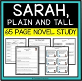 Sarah Plain and Tall Complete Novel Study