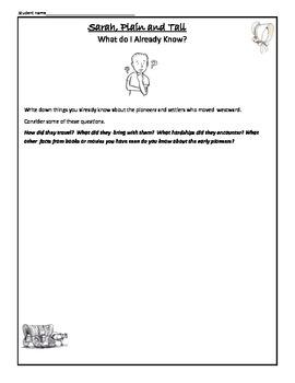 Sarah Plain and Tall Spelling Words Study Activity List   Sarah ...