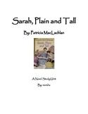 Sarah, Plain and Tall ~ A Novel Study for Reader's Workshop