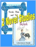 Sarah, Plain and Tall AND Skylark: Printables, Vocabulary, Activities, MORE!