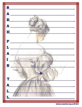 Sarah, Plain and Tall Acrostic