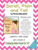 Sarah, Plain and Tall Mini Pack Activities 3rd Grade Journ