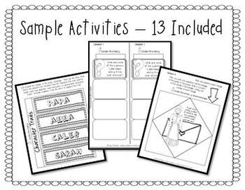 Sarah, Plain and Tall Activities for INTERACTIVE NOTEBOOKS