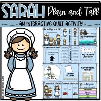 Sarah Plain and Tall Interactive Quilt