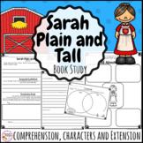 Sarah Plain and Tall Novel Study