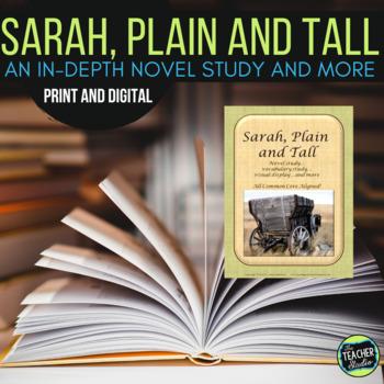Sarah Plain and Tall CCSS Aligned Novel Study Plus!