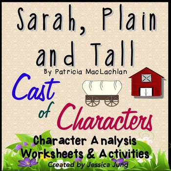 Sarah Plain And Tall Cast Of Characters By Jessica Jung Tpt