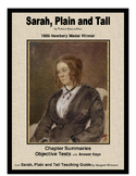 Sarah, Plain and Tall   Chapter Summaries and Objective Tests