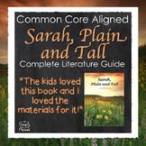 Sarah, Plain and Tall Novel Study Bundle Lesson Plans, Act