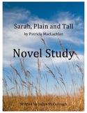 Sarah, Plain and Tall Complete Novel Study